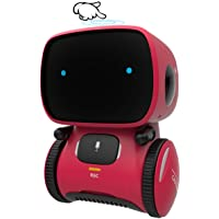 GILOBABY Kid Intelligent Robot Toys- Voice& Touch Control, Children Smart Robotic Toys for Girls, Toys Gift for age 3-9 year old birthday- Girls Boys- Dance&Sing&Walk, Recorder&Speak Like You - First Class Learning Bradford