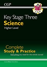 KS3 Science Complete Study & Practice (with online edition) (CGP KS3 Science) - First Class Learning Bradford