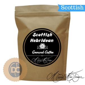 Scottish Hebridean Ground Coffee- from Chiswells of London (227g) - First Class Learning Bradford