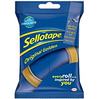 Sellotape Original Golden Sticky Tape - First Class Learning Bradford