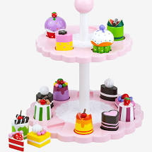Tidlo Shape Sorting Cake Stand - First Class Learning Bradford