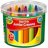Crayola My First Easy Grip Jumbo Crayons designed for Toddlers, Pack of 24, 81-8104 - First Class Learning Bradford