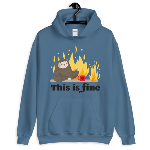 This Is Fine (Hoodie)