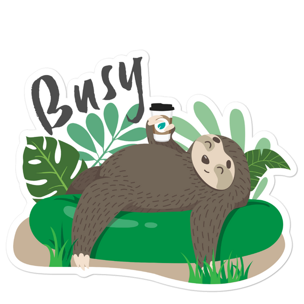 Busy (Sticker)
