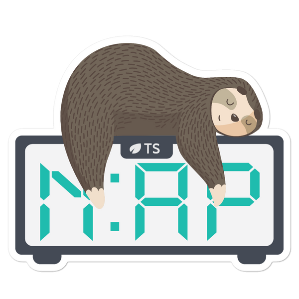 Nap O'Clock... Again (Sticker)