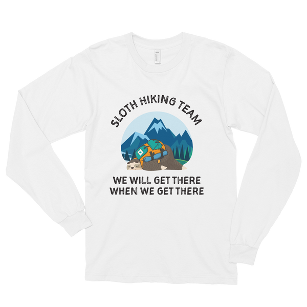 Sloth Hiking Team (Pull Over)