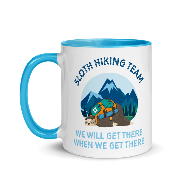 Sloth Hiking Team (Mug)