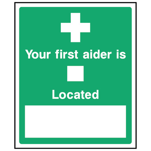 Your first aider is located - FAID0002 - Virus Safety