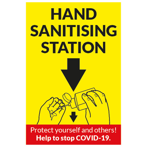 Hand Sanitising Station - Covid-19-0026 - Virus Safety