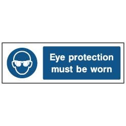 Eye protection signage - PPE0004 - Virus Safety