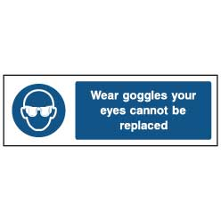 Eye protection wear goggles - PPE0005 - Virus Safety