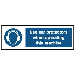 Use ear protectors - PPE0008 - Virus Safety