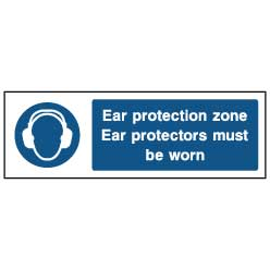 Ear protection zone  - PPE0010 - Virus Safety