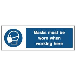 Masks must be worn - PPE0012 - Virus Safety