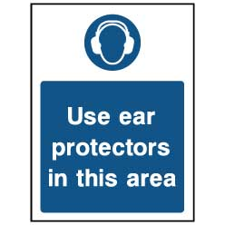 Use ear protectors - PPE0031 - Virus Safety