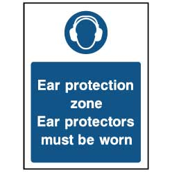 Ear protection zone - PPE0035 - Virus Safety