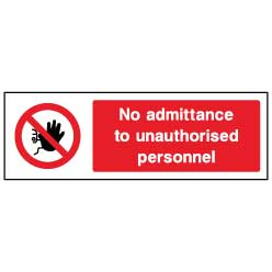 No admittance to unauthorised personnel  - ACCE0001 - Virus Safety
