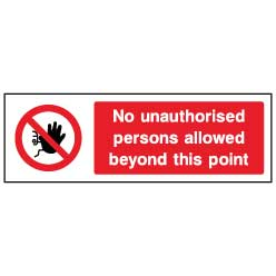 No unauthorised persons - ACCE0002 - Virus Safety