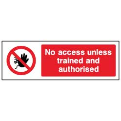 No untrained access  - ACCE0016 - Virus Safety