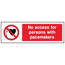 No access to persons with pacemakers - ACCE0019 - Virus Safety