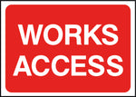 Construction Signs - Site Access-RTTEMP0016 - Virus Safety
