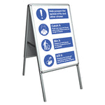 Help prevent the spread of flu A-Board - Virus Safety