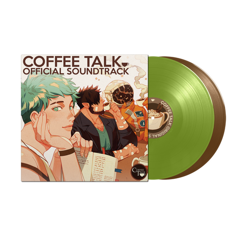 Andrew Jeremy - Coffee Talk [New 2x 12-inch Matcha Green & Coffee Brown Vinyl LP]