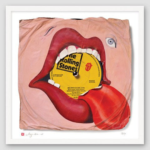 """Brown Sugar"" - The Rolling Stones (Limited Edition Print by Morgan Howell)"