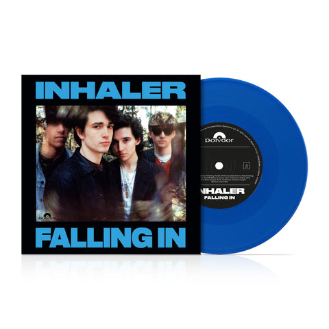"Inhaler -Falling In  [New Limited Edition 1 x 7"" Blue Vinyl]"