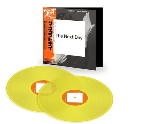 "David Bowie - Next Day (2 x 12"" Yellow Vinyl Limited Edition w/ Obi Strip Japanese Audiophile Pressing)"