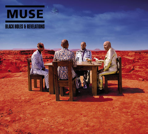 "Muse  ‎– Black Holes And Revelations (12"" Vinyl)"