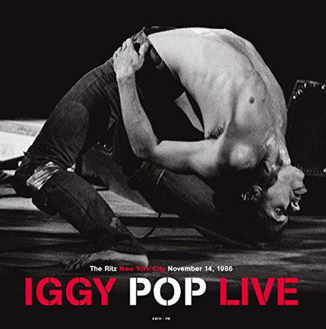 "Iggy Pop ‎– Live At The Ritz New York City November 14, 1986 (12"" Vinyl LP)"