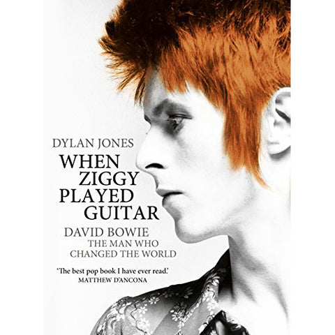 David Bowie - When Ziggy Played Guitar (Hardcover Book)