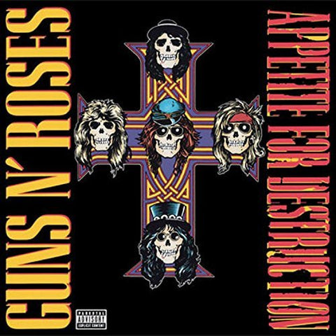 "Guns N' Roses - Appetite for Destruction (12"" Vinyl LP)"