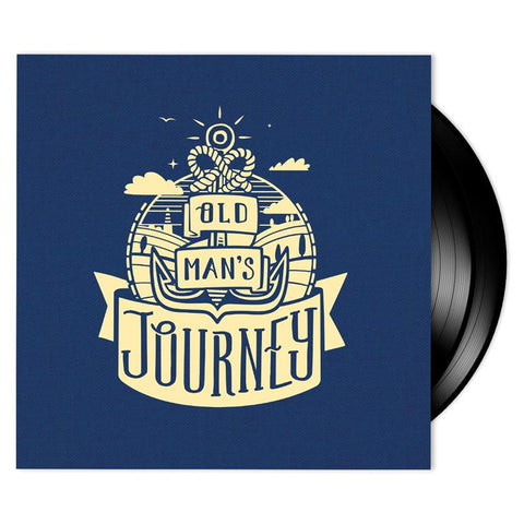 Scntfc - Old Man's Journey [New Cloth-Wrapped Jacket 2x 10-inch Black Vinyl LP]