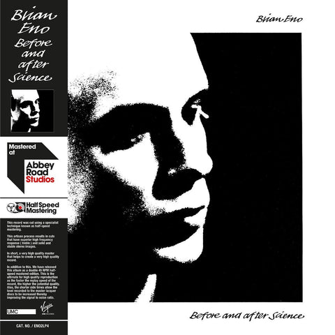 "Brian Eno ‎– Before and After Science (Limited Edition Half Speed Mastered 45RPM Double 12"" Vinyl LP)"