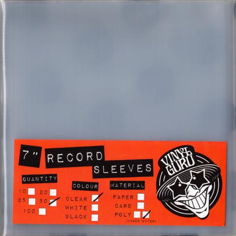 Vinyl Guru Pvc Outer Sleeves For 7 Inch Records