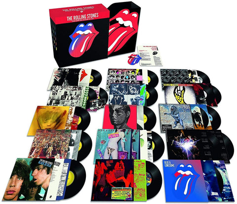 The Rolling Stones - Studio Albums Vinyl Collection 1971-2016 (Box, Comp, Ltd, Num, RM + LP, Album, RE + 2xLP, Al)