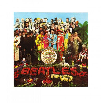 """Sgt Pepper's Lonely Hearts Club Band"" - The Beatles (Limited Edition Print Signed by Peter Blake)"
