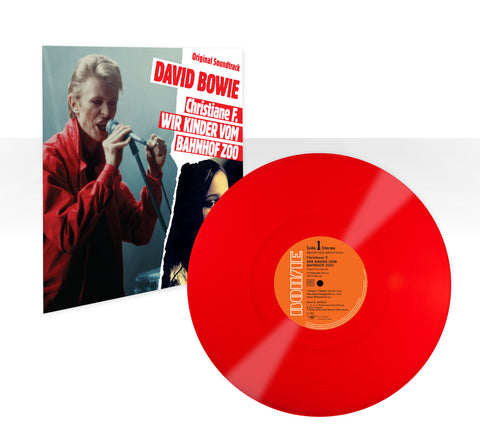 "David Bowie - Christiane F. – Wir Kinder Von Bahnhof Zoo (Limited Edition 12"" Red Vinyl)"