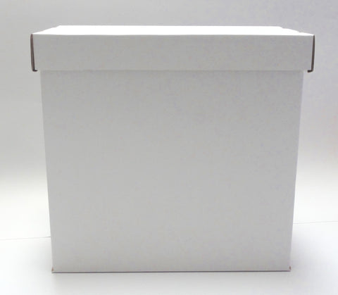 Vinyl Guru Cardboard Storage Box for 12 inch 33RPM LP Records Albums