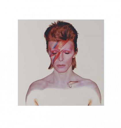 """Aladdin Sane"" - David Bowie (Limited Edition Print Signed by David Bowie & Celia Philo)"