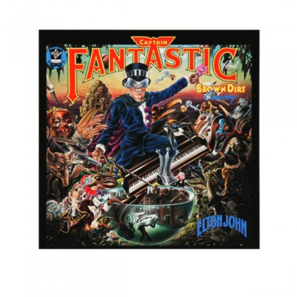 """Captain Fantastic"" by Elton John Limited Edition Signed Print"