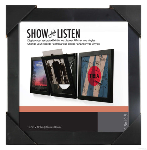 Show and Listen Album Cover Frames