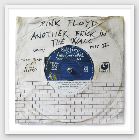 """Another Brick In The Wall Part 2"" - Pink Floyd (Limited Edition Print by Morgan Howell)"