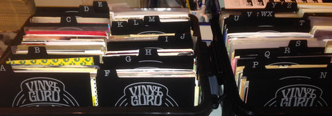 Vinyl Guru Branded A-Z 7 inch 45RPM Record Collection Dividers