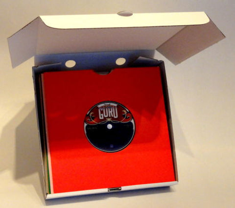 Vinyl Guru Cardboard Packaging Shipping Boxes for 7 inch 45RPM Records