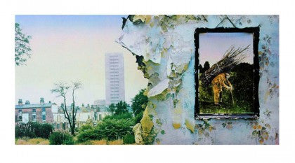 """Led Zeppelin IV"" by Led Zeppelin Limited Edition Signed Print"