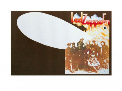 """Led Zeppelin II"" by Led Zeppelin Limited Edition Signed Print"