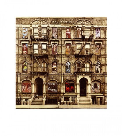 """Physical Graffiti"" by Led Zeppelin Limited Edition Signed Print"